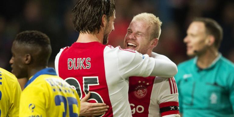 Klaassen blijft twijfelgeval voor Ajax