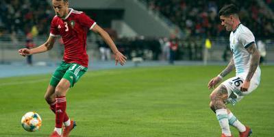 Marokko buigt in slotfase voor Argentinië