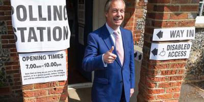 Poll: Brexit Party grote winnaar bij Britten