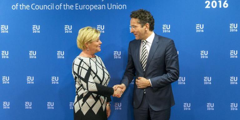 Schuldverlichting Griekenland besproken