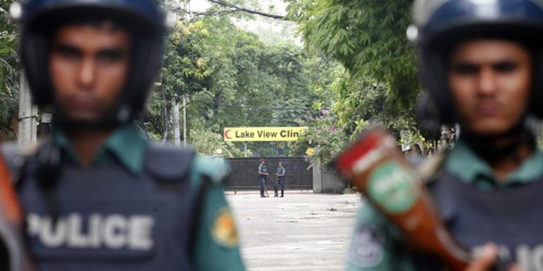 Politie doodde mogelijk gijzelaar Dhaka