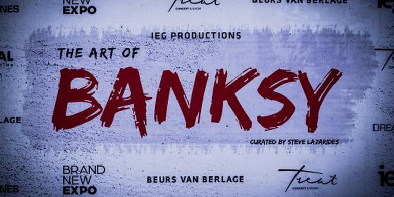 The Art Of Banksy druk bezocht