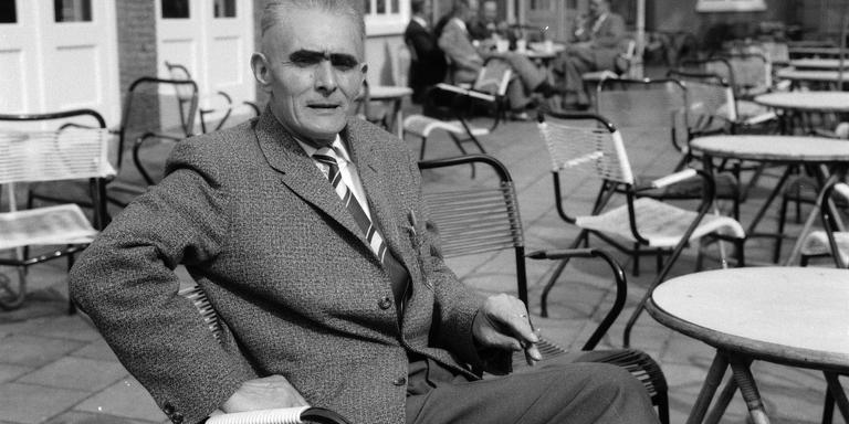 Douwe Bijlsma 'in burger' in 1961.