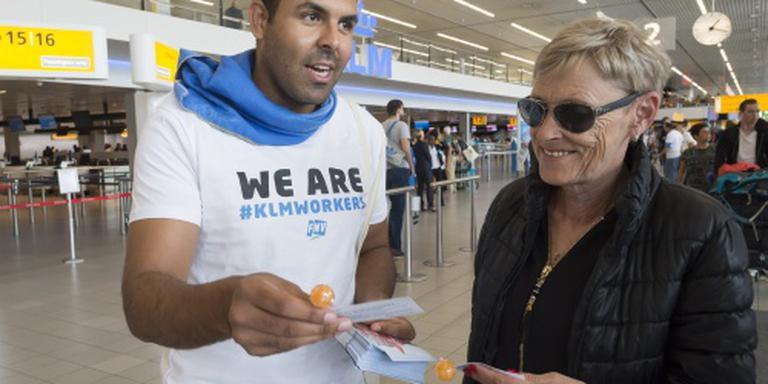 FNV slaat uitnodiging KLM af