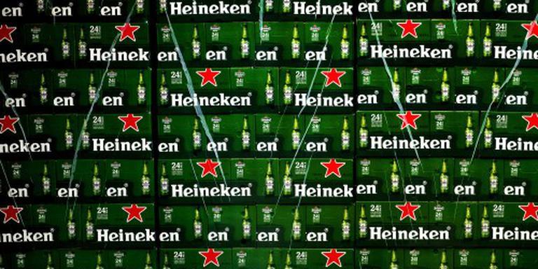 Heineken grootste verliezer in rode AEX