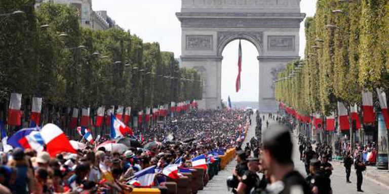 Wereldkampioenen terug in Frankrijk