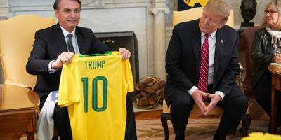 Trump ziet in Brazilië mogelijk NAVO-lid
