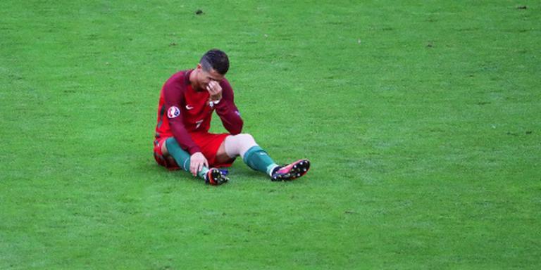 Blessure Ronaldo valt mee