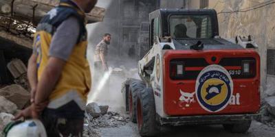 Jordanië: honderden Witte Helmen naar Westen