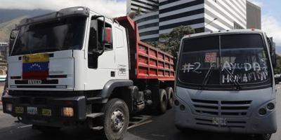 Maduro sluit grenzen voor hulpgoederen
