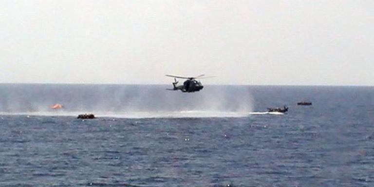 Italianen redden 1400 vluchtelingen op zee