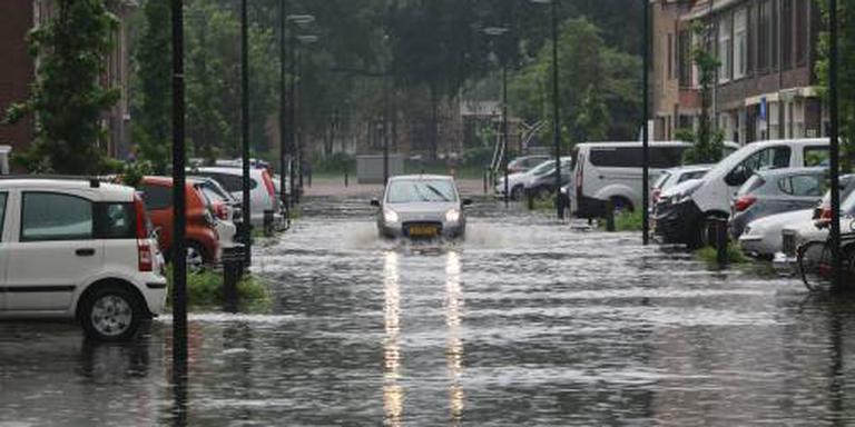Onweersbuien veroorzaken lokaal veel overlast