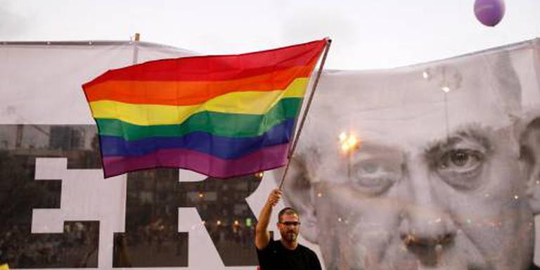 Protesten in Israël voor homorechten