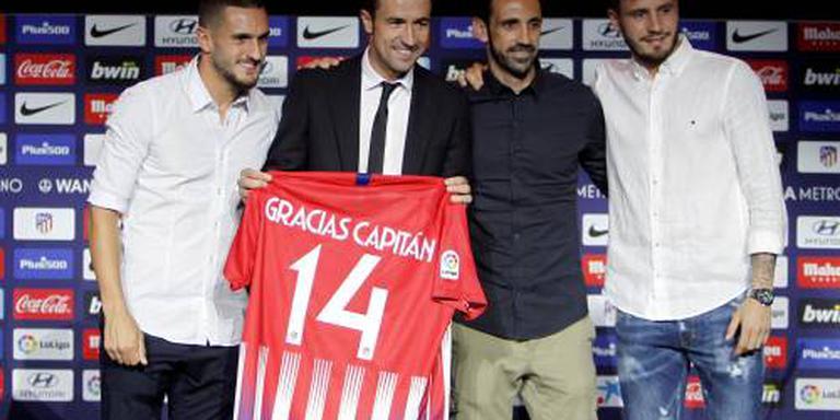 Aanvoerder Gabi verlaat Atlético Madrid