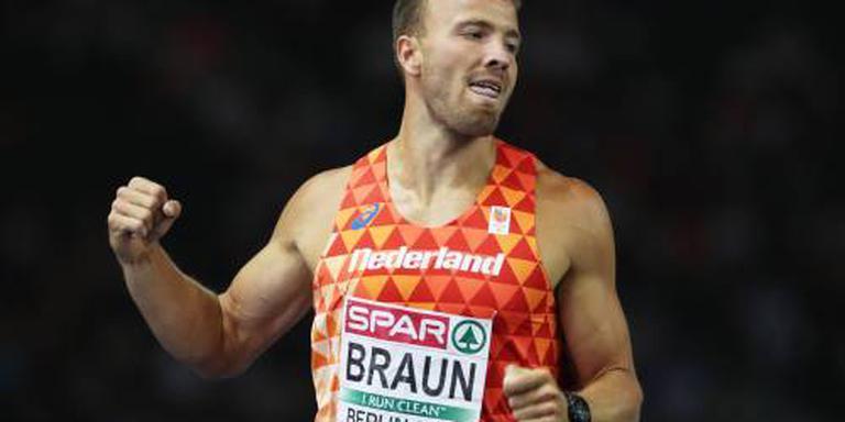 Braun achtste na eerste dag tienkamp