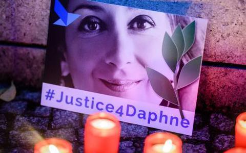 'Zakenman betaalde voor moord op journaliste'