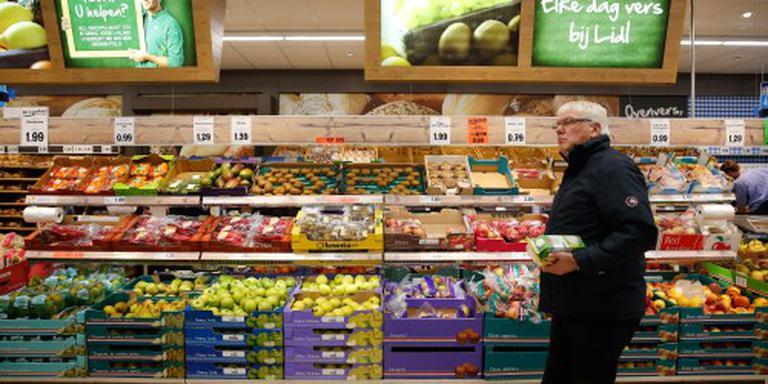 Supermarkten zien omzet licht stijgen