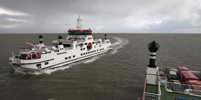 Werkonderbreking veerboot Ameland