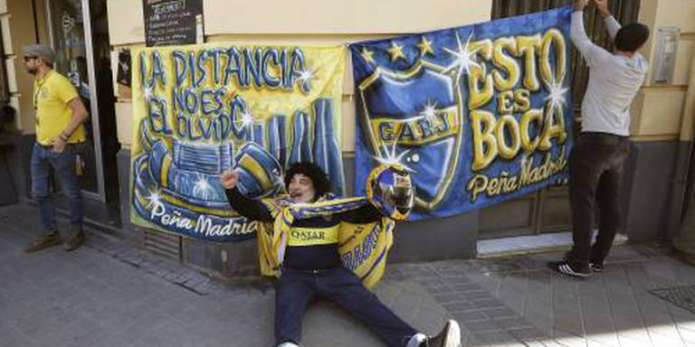 Spaanse politie pakt hooligan Boca op