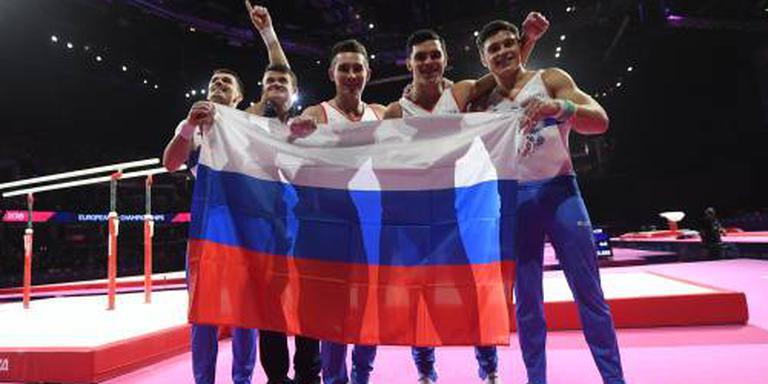 EK-goud Russische turners in landenfinale