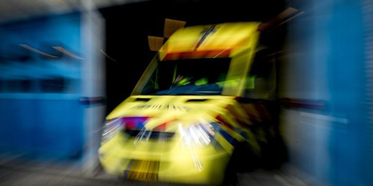 Dode door frontale botsing vrachtwagens