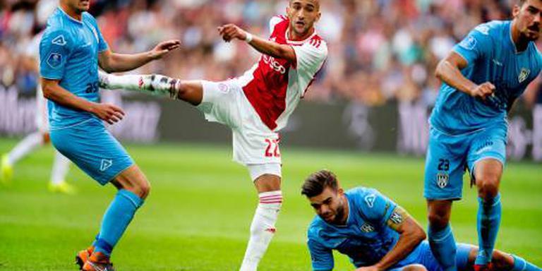 Ajax speelt gelijk tegen Heracles Almelo