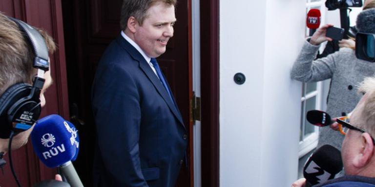 Verwarring over (ex-)premier IJsland