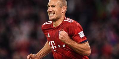 Bayern met Robben in Athene