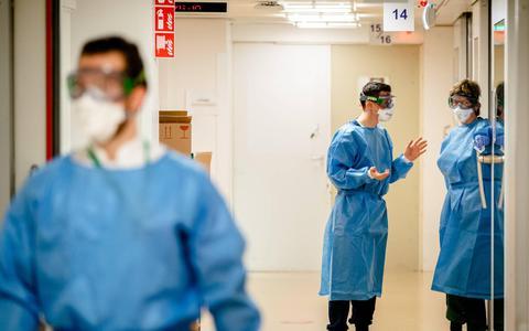 Opnieuw meer coronapatiënten in ziekenhuizen