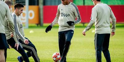 Ajax met Neres tegen NAC Breda