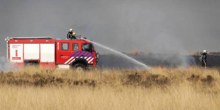 Natuurbrand in nationaal park Hoge Veluwe