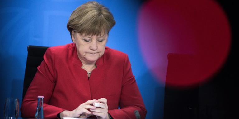 Merkel betaalde partij te weinig contributie