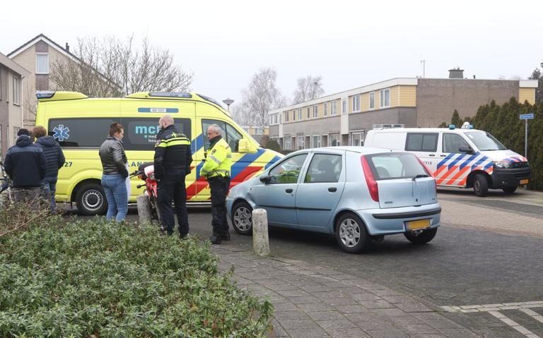 Motorrijder gewond bij botsing met auto in Oudeschoot.