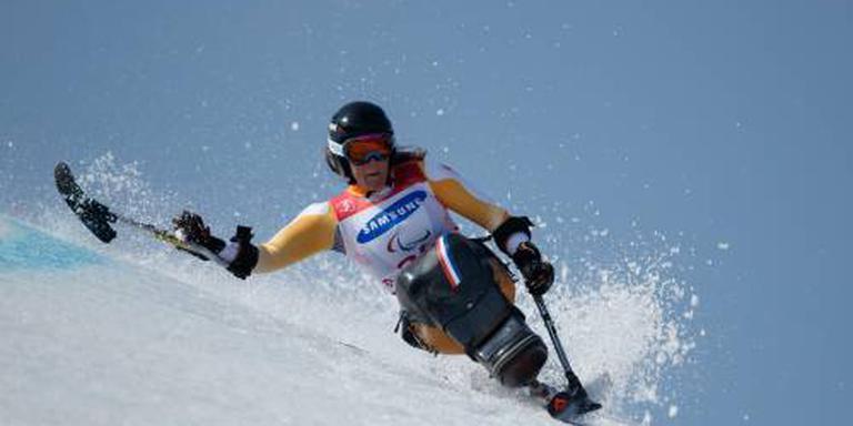 Zilver zitskiester Van Impelen op reuzenslalom