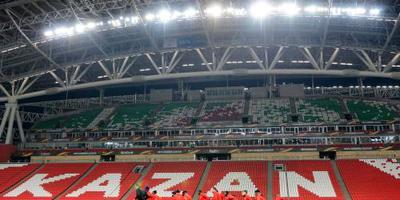 UEFA schorst Roebin Kazan in Europa