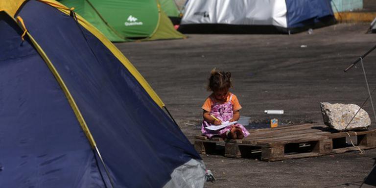 Opnieuw minder migranten naar Griekenland