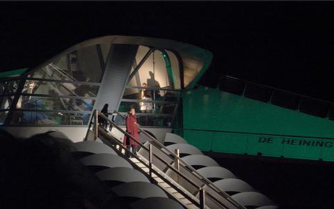 Een theatrale start voor zeegemaal De Heining bij Marrum