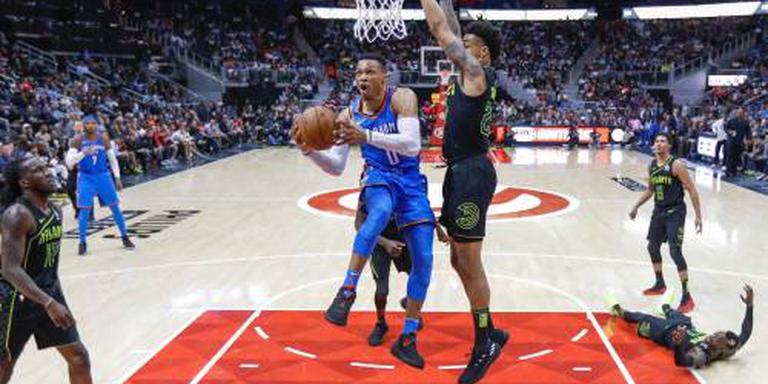 Mijlpaal voor basketballer Westbrook