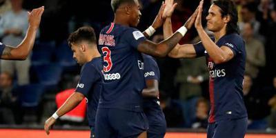 PSG wint na vroege achterstand van Rennes