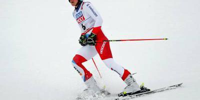 Holdener snelste in eerste run slalom
