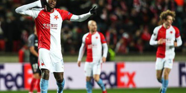 Van Buren stunt met Slavia Praag tegen Sevilla