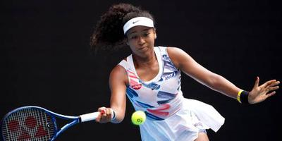 Osaka wint haar eerste partij op Australian Open