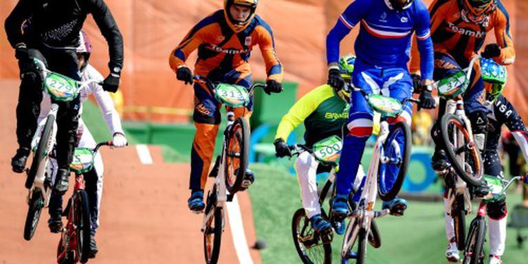 Drie BMX'ers naar halve finales