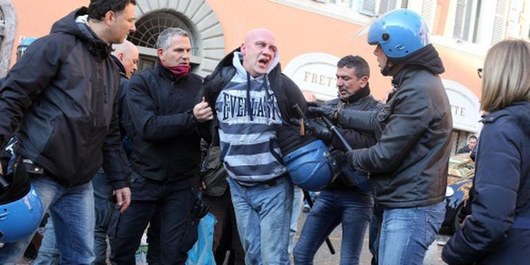 Proces tegen Feyenoord-fans in Rome