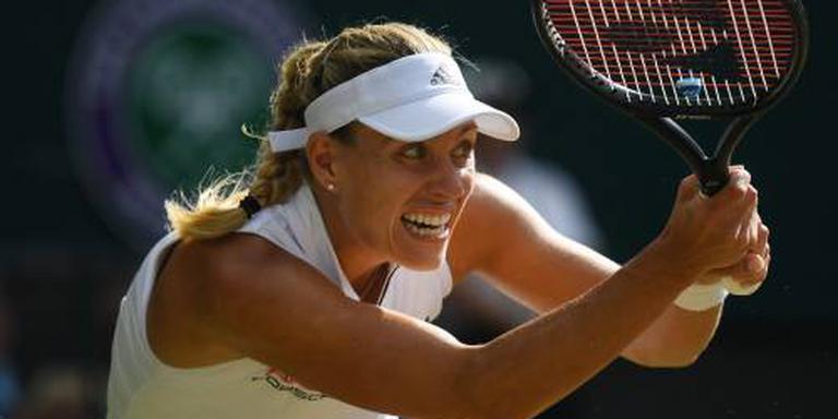 Kerber pakt op Wimbledon derde grandslamtitel