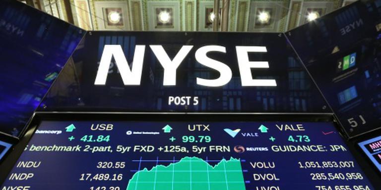 Ook stevige winsten op Wall Street