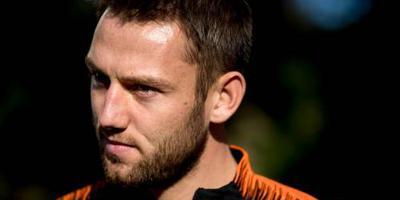 Oranje met zes andere spelers tegen Belgen