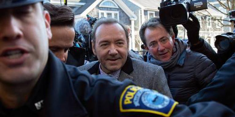 Acteur Spacey zwijgt op rechtbankzitting
