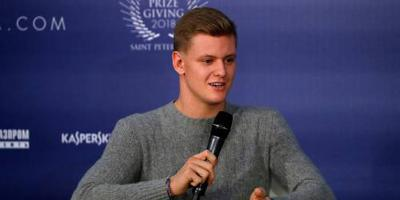 Eerste test Mick Schumacher in Formule 1