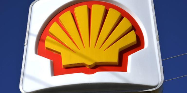 Winst Shell opnieuw sterk gedaald